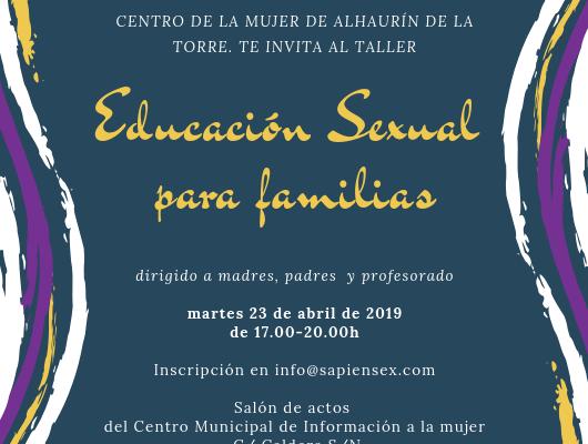 Educación sexual para familias y profesorado
