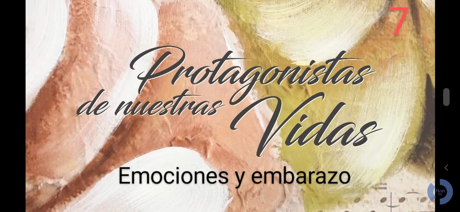 Protagonistas de nuestras vidas 7: Emociones y Embarazo