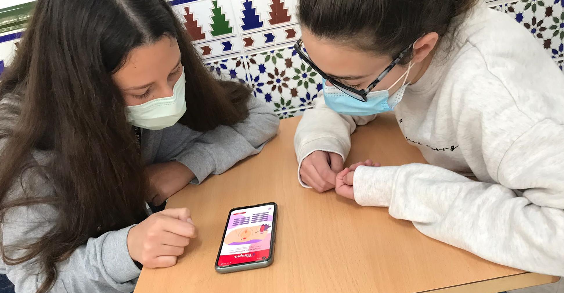 Talleres Olimpia, a través de la App de educación afectivo sexual
